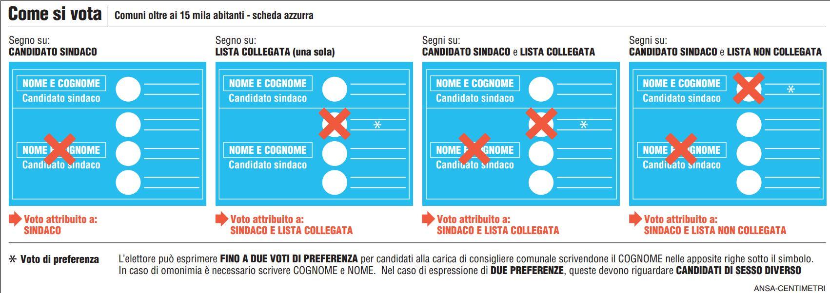 amministrative 2013 come votare 1