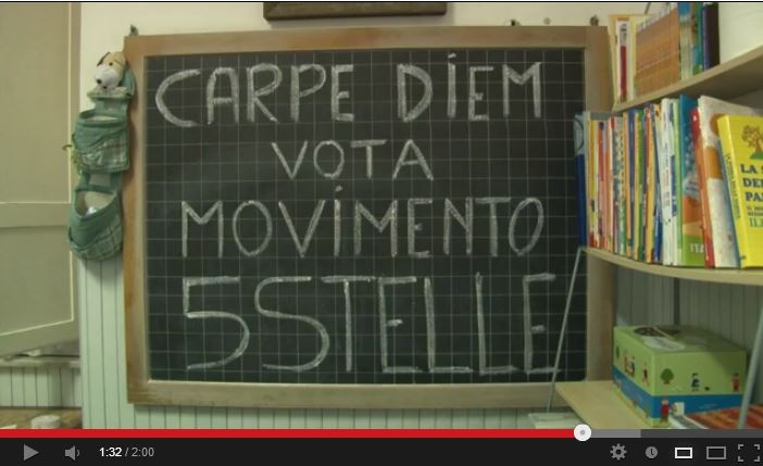 carpe diem movimento 5 stelle