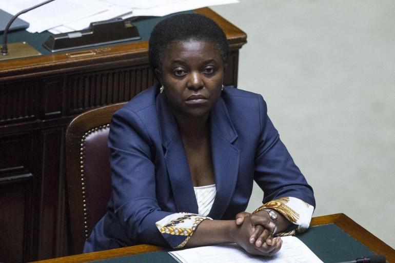 Cécile Kyenge e la foto dell'orango su Wikipedia