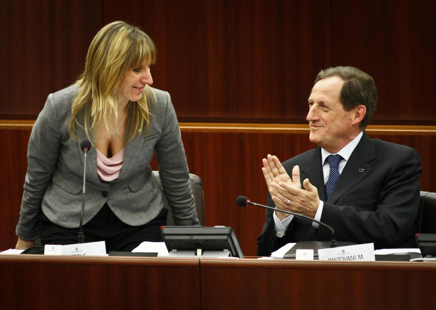 Regione Lombardia : prima seduta della X legislatura