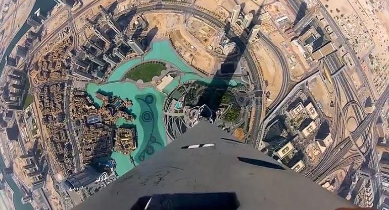 Google street view ti porta sulla cima del grattacielo pi for Grattacielo piu alto del mondo