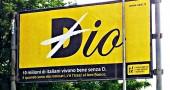 """La pubblicità dell'Uaar: """"Viviamo bene senza D..."""""""