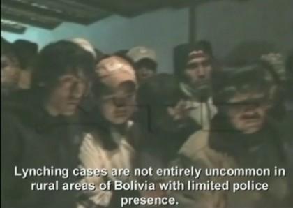 bolivia linciaggi