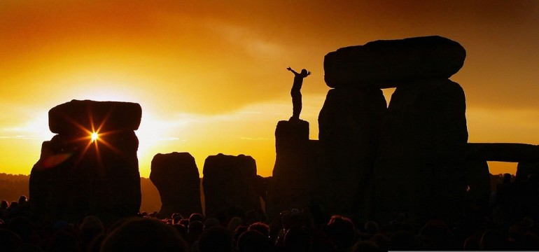 Day Of Summer Solstice Celebrated In Stonehenge