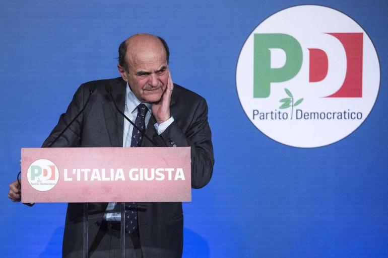 Elezioni - Conferenza stampa di Pierluigi Bersani