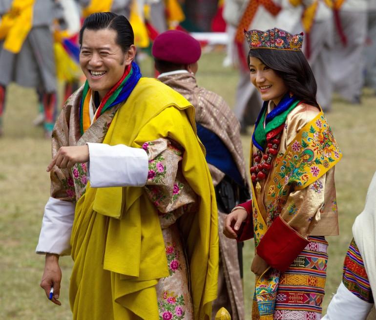 Jigme Khesar Namgyel Wangchuck re del Bhutan e regina