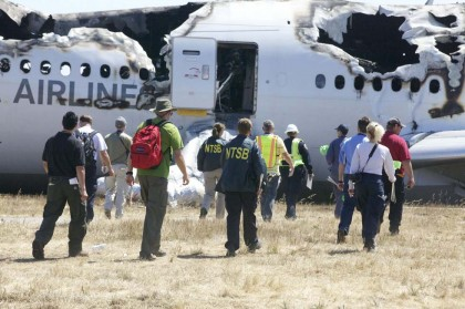 incidente aereo san francisco Asiana Airlines