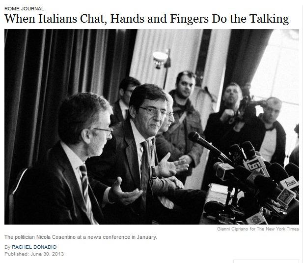 italiani mani