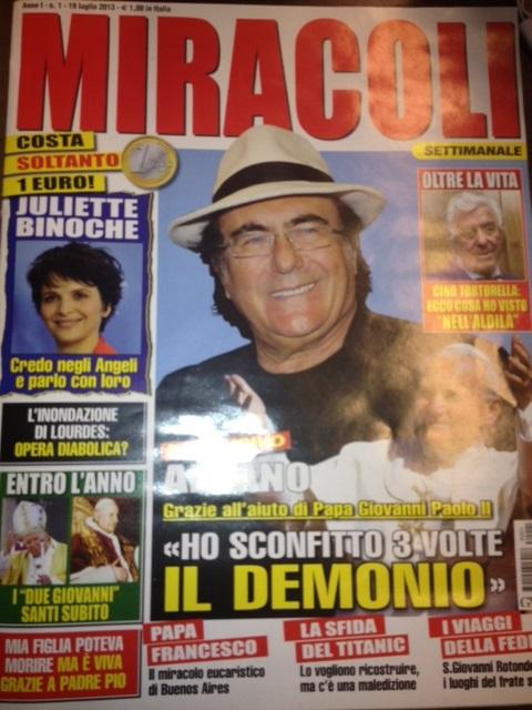 miracoli settimanale copertina