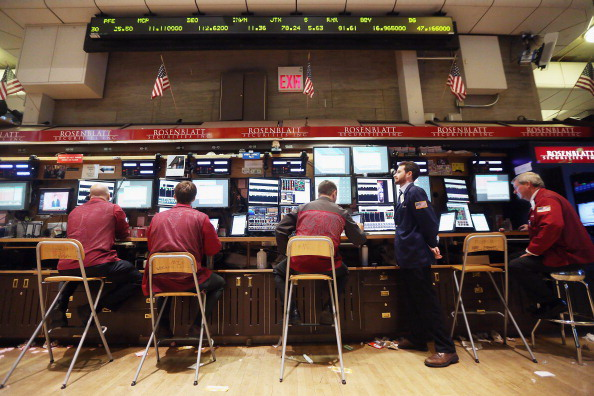 Traders Work On The Floor Of Exchange As Federal Reserve Ends Two Day Policy Meeting