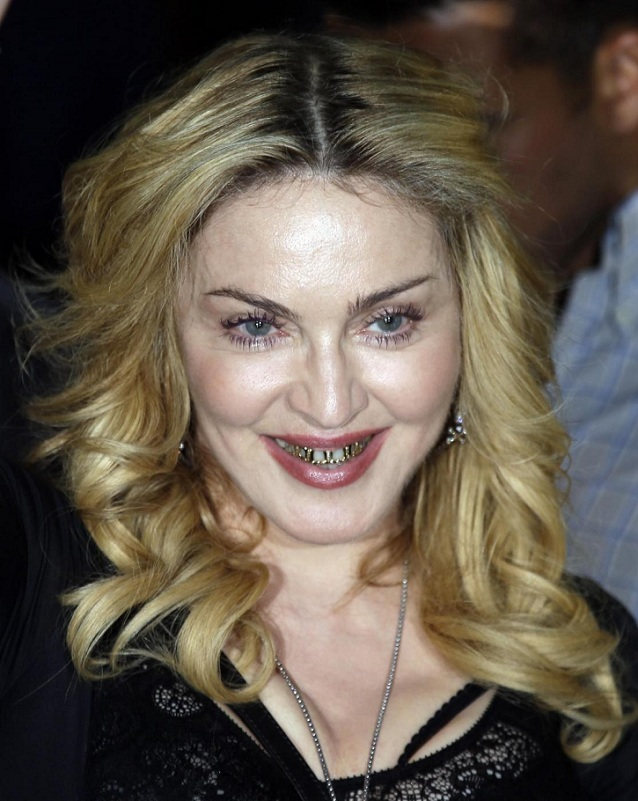 Madonna visita la palestra