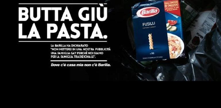 «Boicotta Barilla»