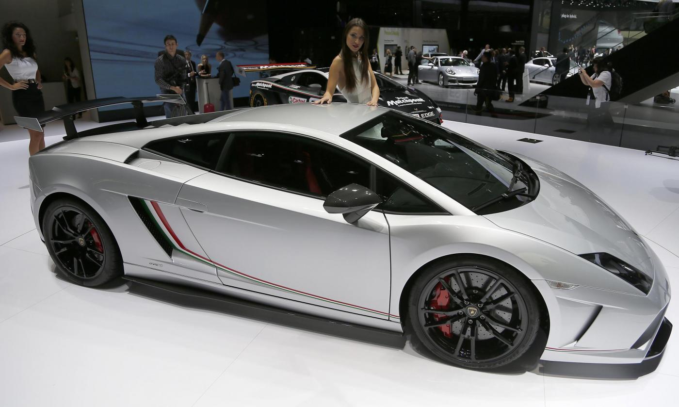 Una Lamborghini Gallardo