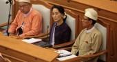 MYANMAR-POLITICS-PARLIAMENT