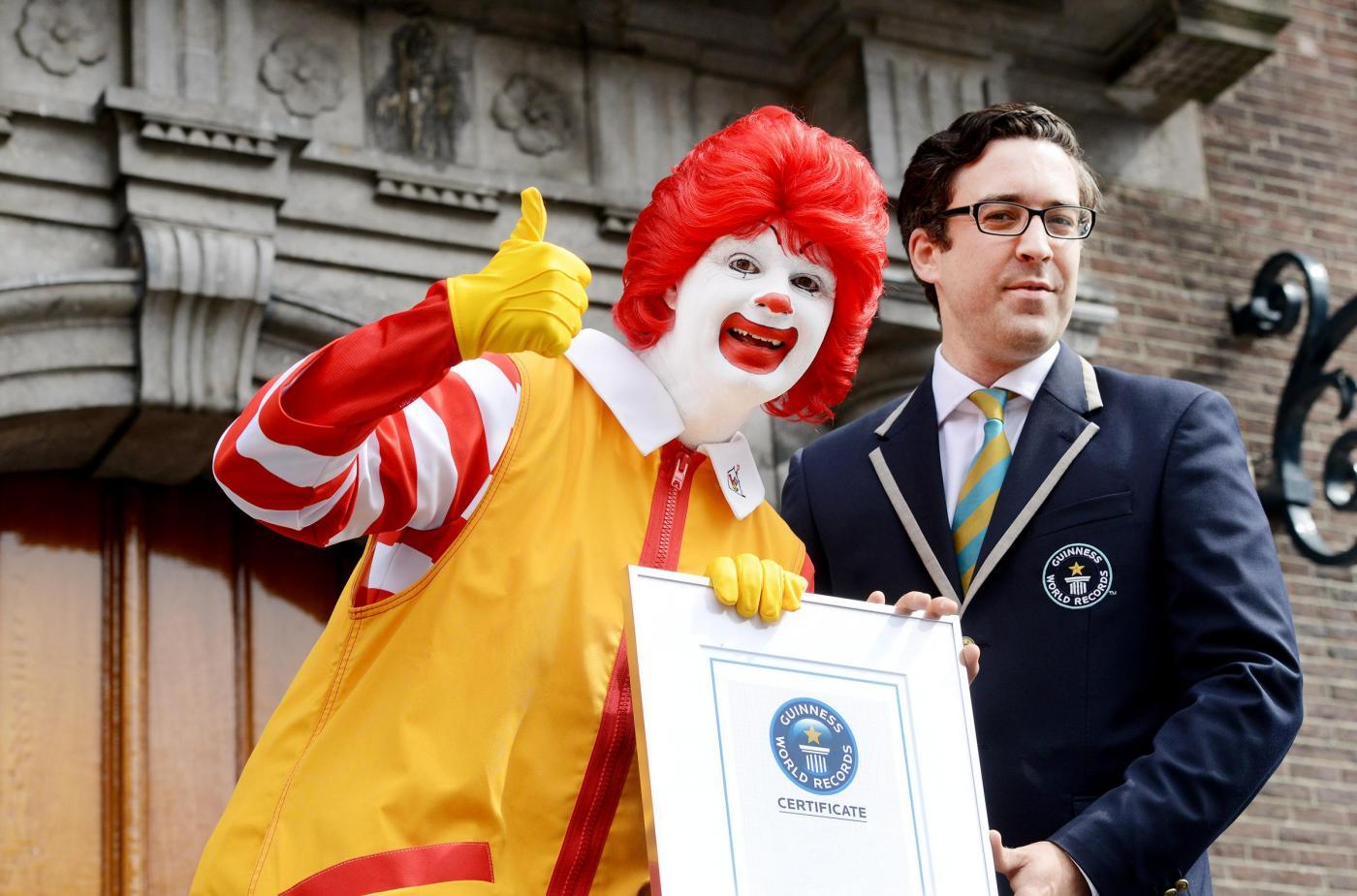 Ronald McDonald, Jack Brockbank