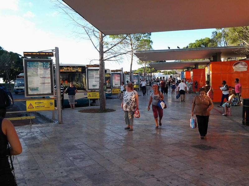 Terminal autobus, La Valletta
