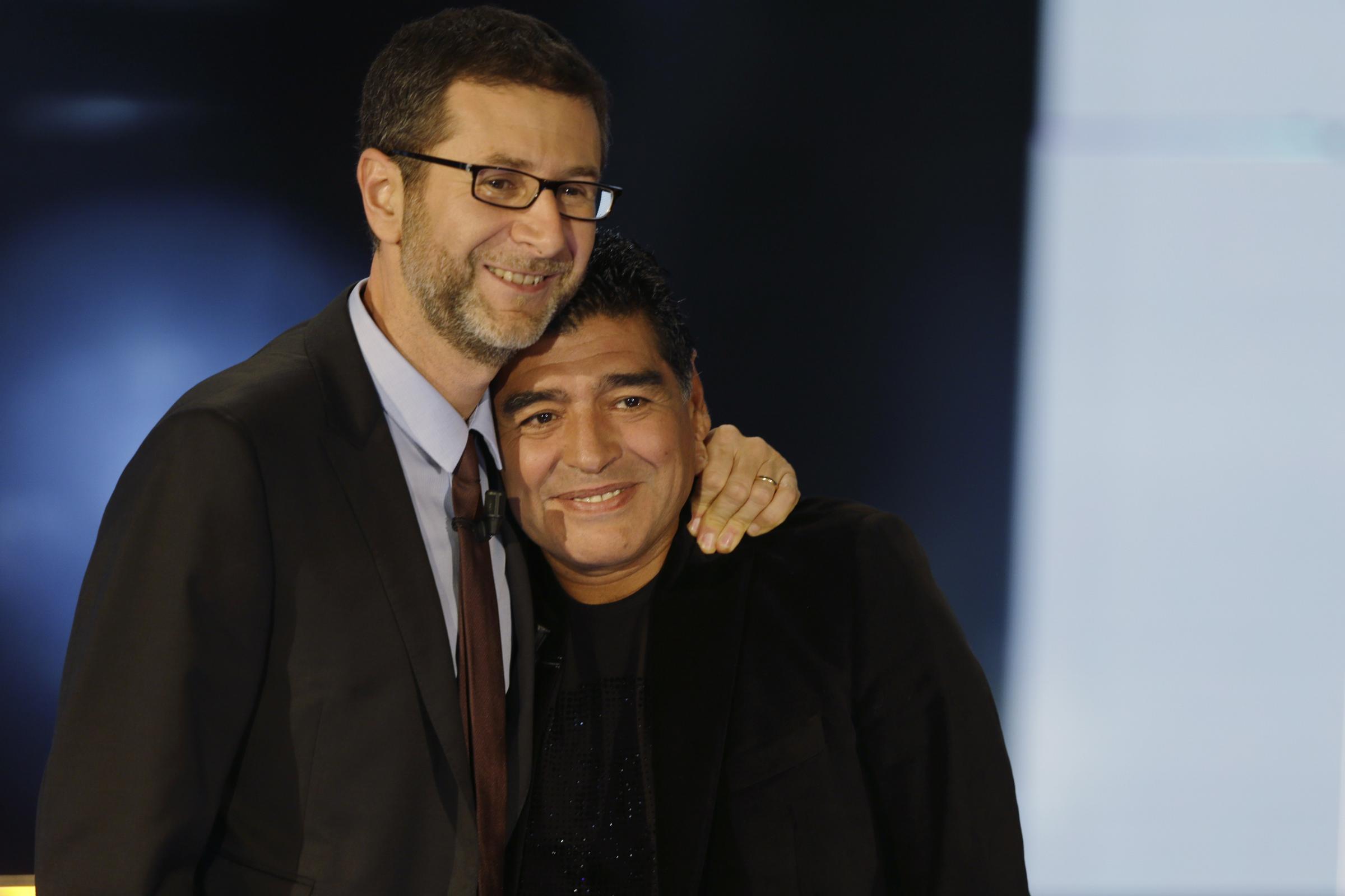 """Maradona ospite a  """"Che tempo che fa"""