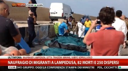 Lampedusa naufragio migranti 13