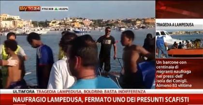 Lampedusa naufragio migranti 14