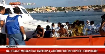Lampedusa naufragio migranti 2