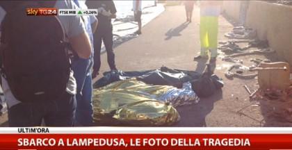 Naufragio Lampedusa migranti