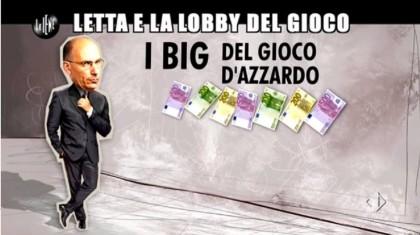 Le Iene Enrico Letta lobby gioco slot machine 5