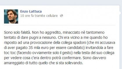Maria Edera Spadoni aggredita Enzo Lattuca 6