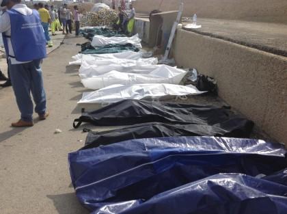 Tragedia a Lampedusa,continua il recupero dei cadaveri,centinaia di dispersi