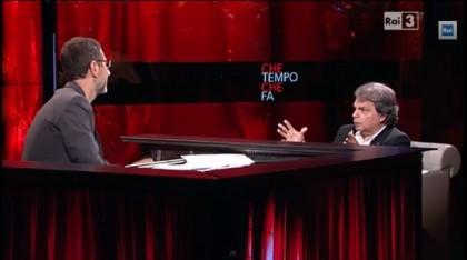 Renato Brunetta Fabio Fazio Che tempo che fa stipendio 3