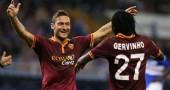 Roma miglior squadra d'Europa Francesco Totti Gervinho