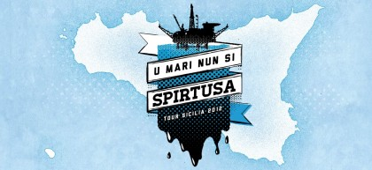 "Photocredit: Greenpeace - La campagna ""U Mari nun si spirtusa"""