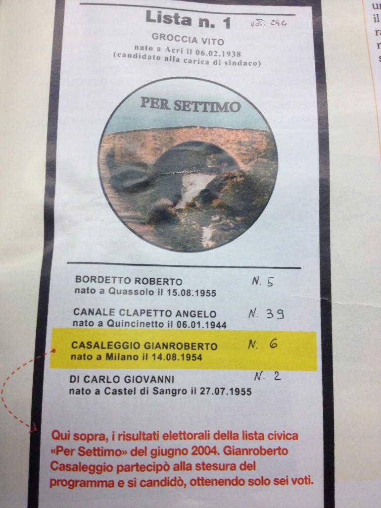 casaleggio forza italia bufala scanzi panorama