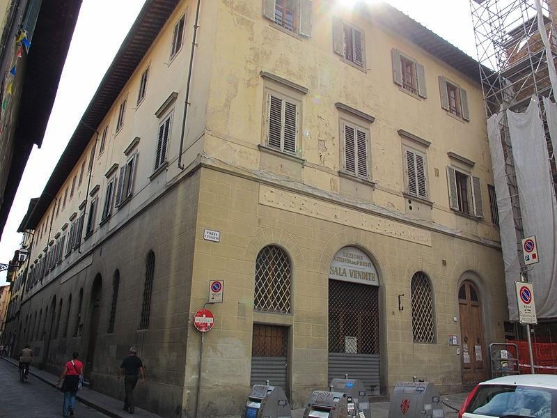 L'antico Monte di Pietà di Firenze (Photocredit Wikipedia)