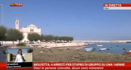 14enne stuprata dal branco a Molfetta