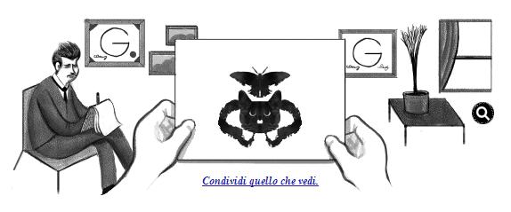 Hermann rorschach un doodle per giocare con il test delle - Tavole di rorschach interpretazione ...