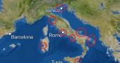Come diventerebbe l'Italia se tutto il ghiaccio del mondo dovesse sciogliersi