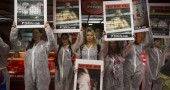 Animal Rights Activists Protest In Israel