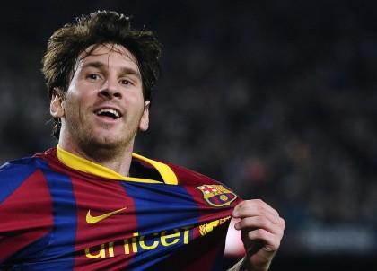 1) Lionel Messi, Barcellona