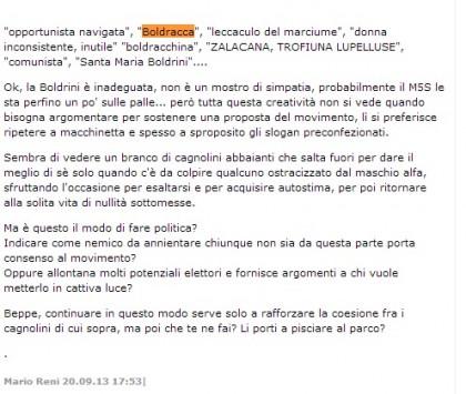 Laura Boldrini insulti 2