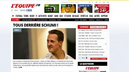 Michael Schumacher coma