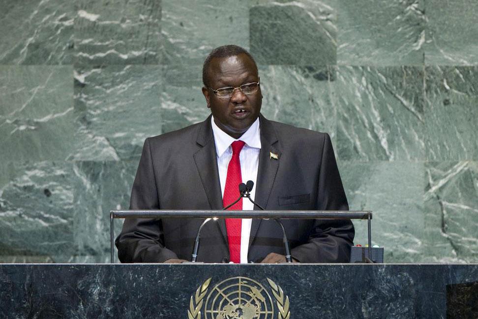 Riek Machar, in copertina Salva Kiir