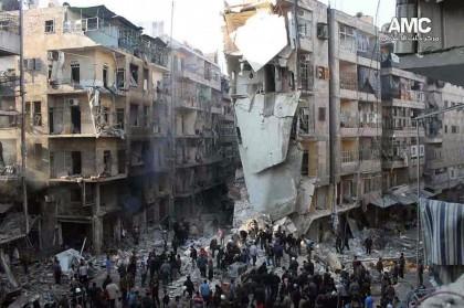 Siria Aleppo bombardamenti 9