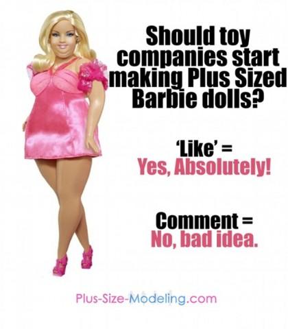 barbie cicciona grassa worth1000 1