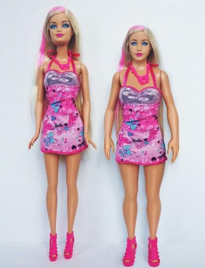 US artist designs realistic 'Barbie' version