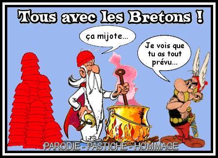 Siamo tutti con i bretoni. «Sta borbottando», «scommetto che avevi previsto tutto»