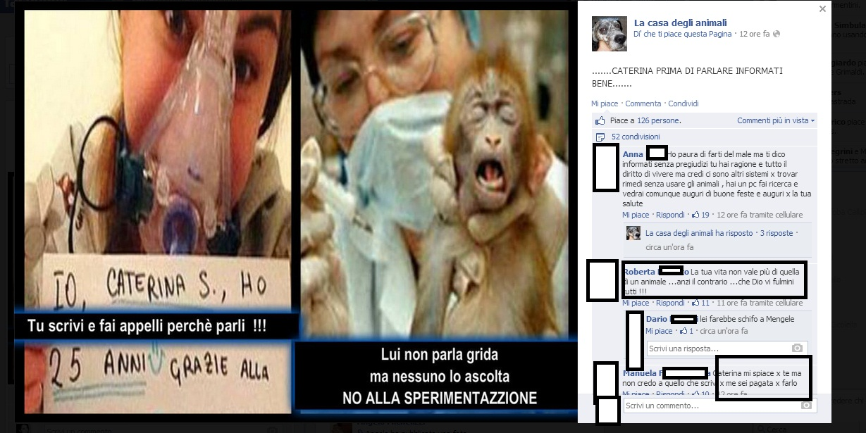 cate minacce  sperimentazione animale 15