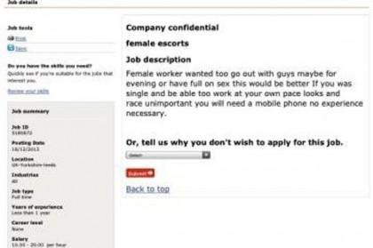 lavoro prostitute escort sito governo inglese annuncio 1