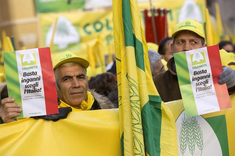Roma, Coldiretti manifesta in difesa dei prodotti Made in Italy