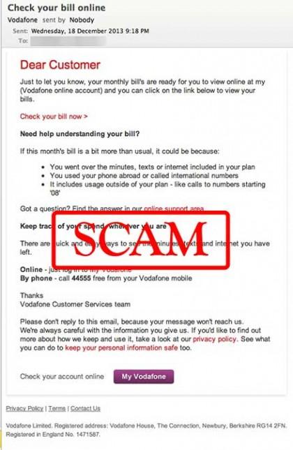 vodafone truffa mail phishing 1