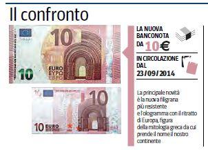 10 euro nuovi dieci euro nuovi